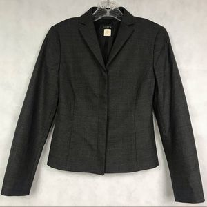 J. CREW Women's Gray Blazer